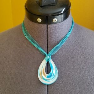Morano glass necklaces